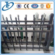 Clôture en fer forgé à clôture en fer forgé