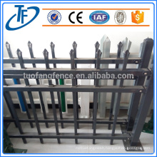 cheap garrison fence welded picket fence iron fence