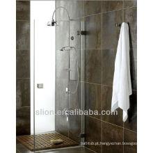 Misturador de banho termostático clássico europeu Conjunto de chuveiro de chuva de bronze