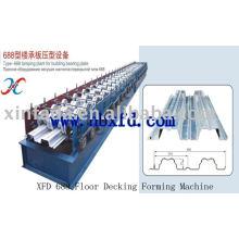 XFD688 Decking do assoalho que dá forma à máquina