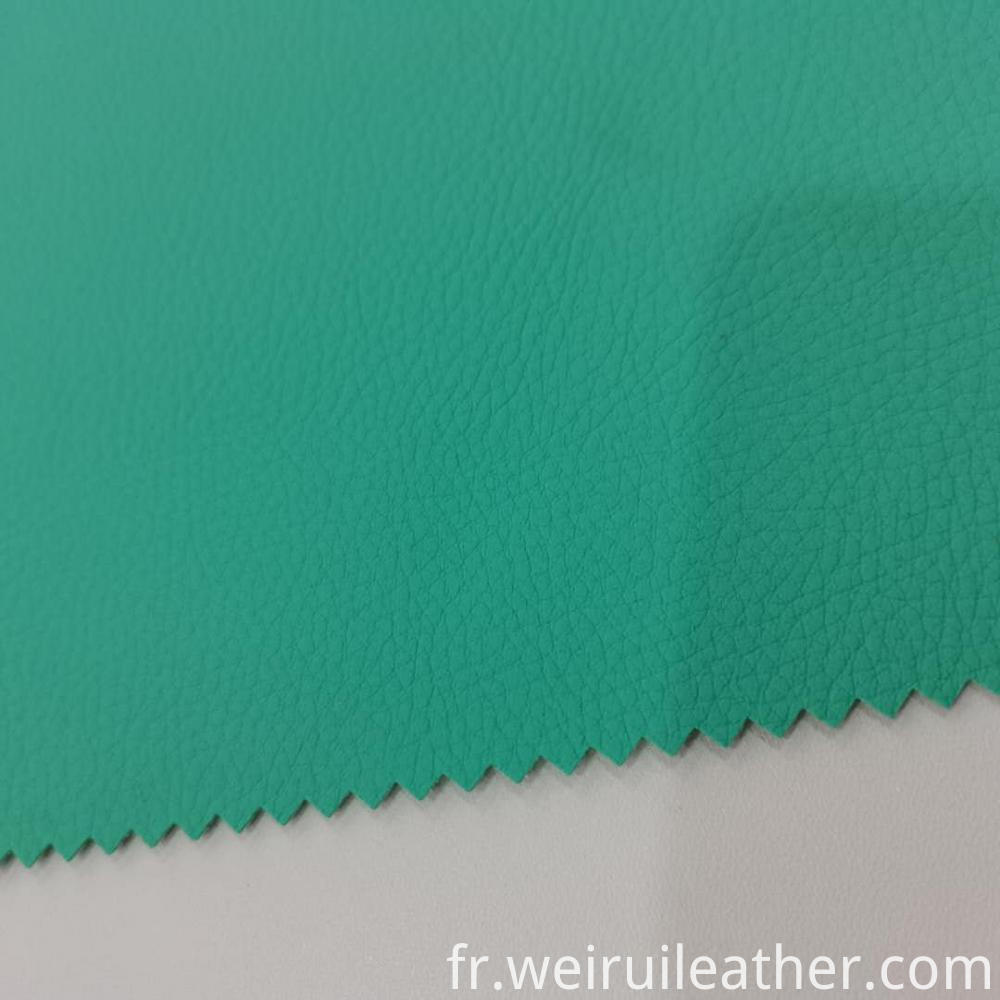 Good Sell Clear Grain Pvc Leather