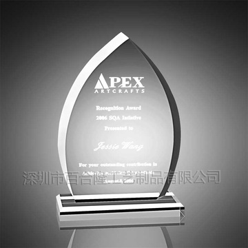 Apex Acrylic Trophy Parts Plast