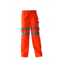 T / C High Visibility Orange Arbeitshose