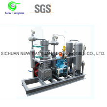 Low Noise Simple Structure Marsh Gas Compressor