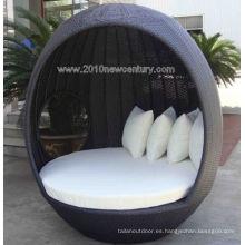 Muebles jardín/al aire libre muebles de la rota muebles/mimbre muebles Chaise Lounger (5003)