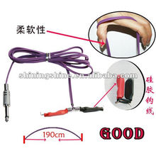 2016 hot sale silicone tattoo machine footswitch spring clip cord