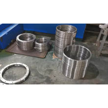 RB40040UUCC0 Heavy loading oem with cage Axial/radial cross roller bearing