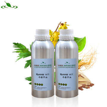 Pure Natural Hyssopus Officinalis Extractado Aceite De Hisopo