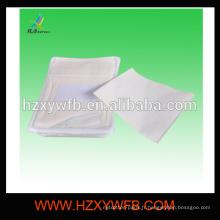 Non-tissé de Spunlace jetable avec la serviette chaude de plateau et de brucelles pour la ligne aérienne
