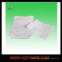 Spunlace Nonwoven Disposable With Tray & Tweezers Hot Towel For Airline