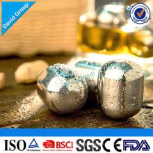 Certified Top Supplier Wholesale Custom Bulgaria Whiskey Stones Stainless Steel