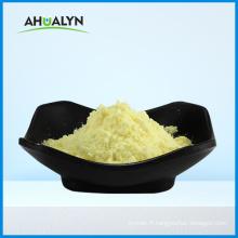 Poudre jaune d'acide a-lipoïque de qualité cosmétique CAS 1077-28-7