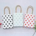 Kleine Geschenktüte mit Griffen Hochzeit Dekoration Papier Geschenktüte für Schmuck Geburtstag Dekoration Party Tasche