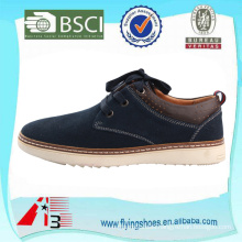 stylish genuine suede leather lace up style men shoes