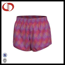 100% Polyester Colorful Sports Running Shorts for Ladies