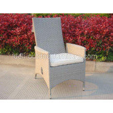 Outdoor Function Wicker Metal Frame UV Chair Gas Adjuster