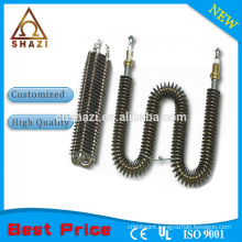 finned nichrome wire heating elements