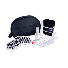 PU leather Airline Amenity Pouch/ Amenity Kit