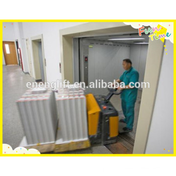 Elevador de frete sem sala de máquina vvvf