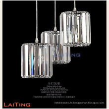 Plafonnier en cristal moderne bon marché d'aluminium pour la maison 71005