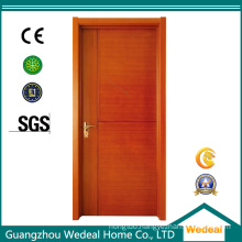 WPC PVC Interior Composite Wooden Door for Houses