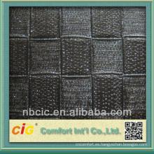 Square Form PVC Cuero para bolsos