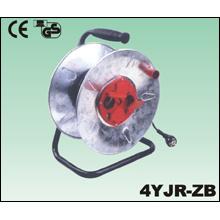 Extensión eléctrica de alambre de cobre cuchara pvc goma de metal tambores de cable de bobina de Cable