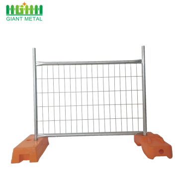 Construction PVC Coated Welded Fence Temporary Fencing
