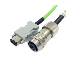 M19 socket waterproof cable assembly