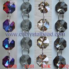Couleur de revêtement DL08 chaîne de perles de cristal