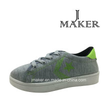 Fashion Young Style Casual Shoe with PVC Injection (JM2081-B)