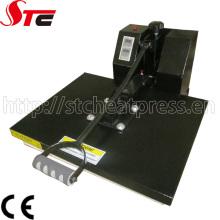 Máquina plana de la prensa de la transferencia de calor del CE 38 * 38cm