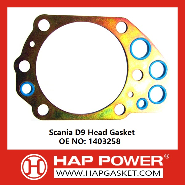 Hap Sc 002 Scania D9 Head Gasket 1403258