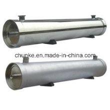 Edelstahl-Wasserfiltergehäuse für RO-Anlage / Membrangehäuse