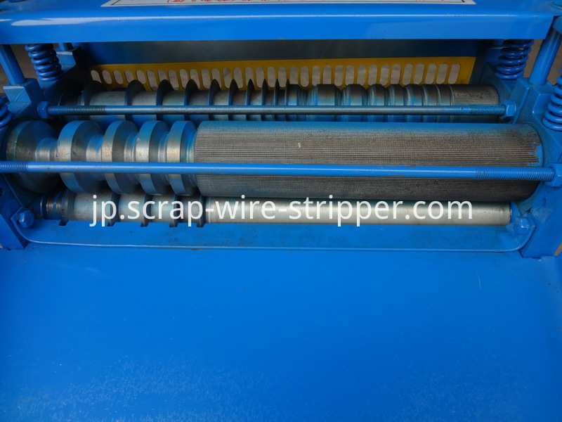 cable striping machine