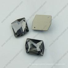 Black Diamond Garment Crystal Stones Glass Stones (DZ-3070)