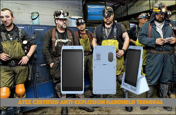 ATEX Certified Handheld Device