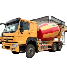 10 cubic meters 6x4 Concrete Transit Mixer Truck with Optional Chassis