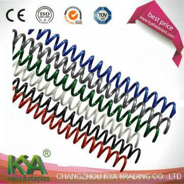 Bobina de espiral de plástico