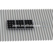20KW sistema de panel solar techo corrugado techo montaje sistema de montaje solar techo