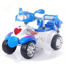 Motocicleta elétrica do bebê com quatro rodas, motocicleta elétrica dos miúdos