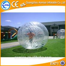 Esfera gigante do corpo da bolha do zorb para o equipamento de esfera adulto, zorbing