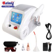 Machine de nettoyage de laser de retrait de tatouage de qualité supérieure de tatouage de Solong 800W