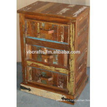 recycle wood chest drawer