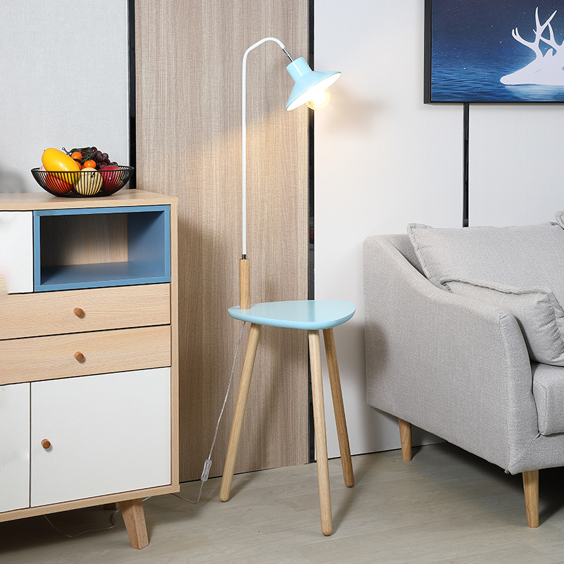 Application Floor Lamp With Table