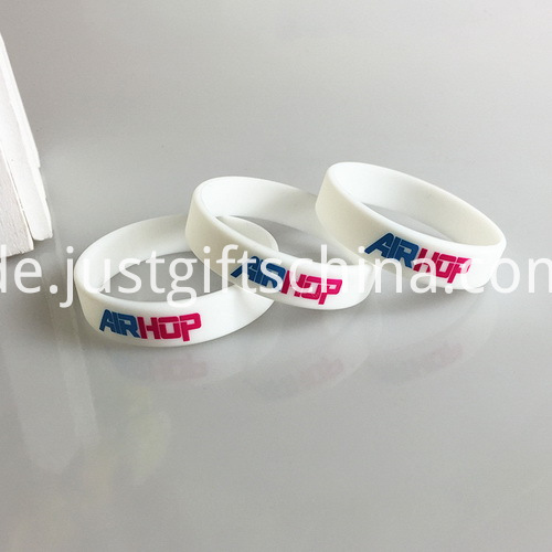 Promotional Child Printed Silicone Bracelets - 150mmx12mmx2mm (2)