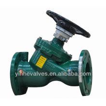 Pressão do orifício variável reduz a válvula