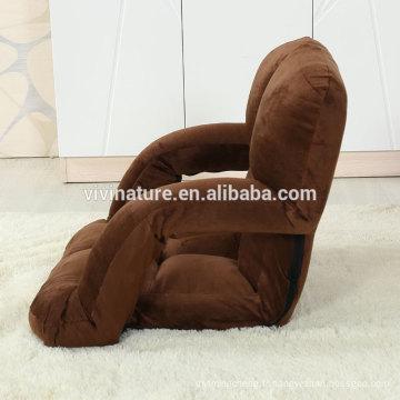 Canapé réglable en hauteur avec accoudoir pour 5 marches réglables
