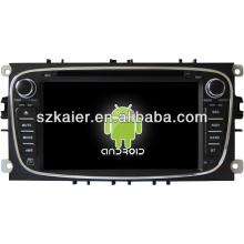 Система DVD-плеер автомобиля андроида для Ford Mondeo с GPS,есть Bluetooth,3G и iPod,игры,двойной зоны,управления рулевого колеса
