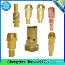 Mag mig Welding soldering nozzle contact tip holder